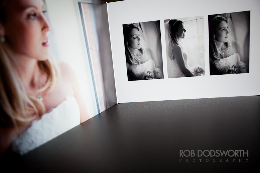 Bridal portraits in Queensberry Wedding Album