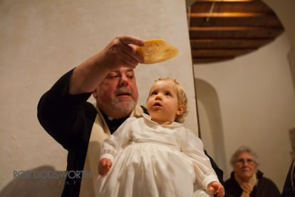 Baptism at a Norfolk church