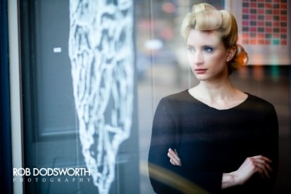 photograph of a model in Norwich at Flint Hair Salon
