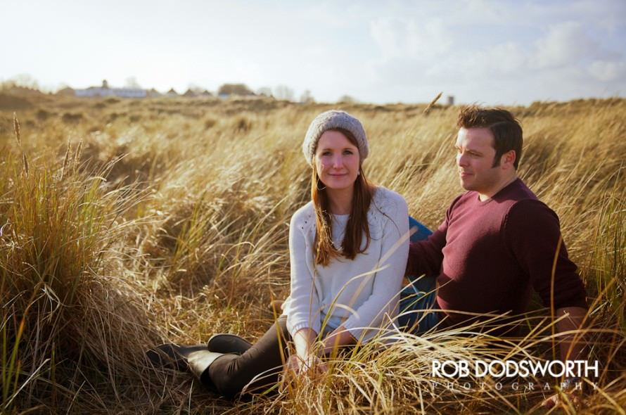 Winterton Dunes Engagement Photography - Rob Dodsworth Photography-7