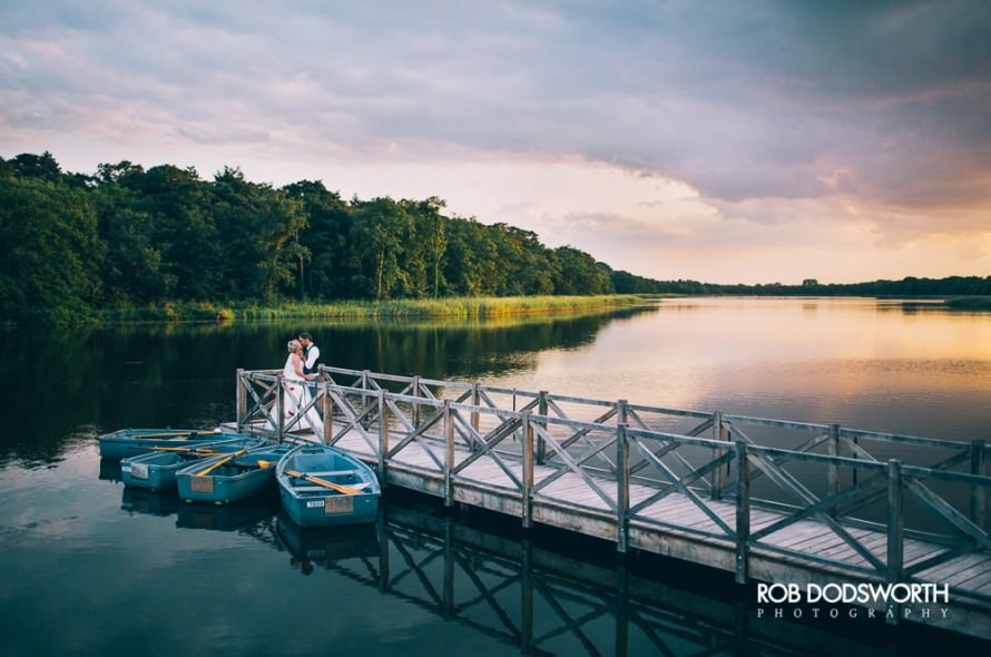 A wedding at the Boathouse in Norfolk