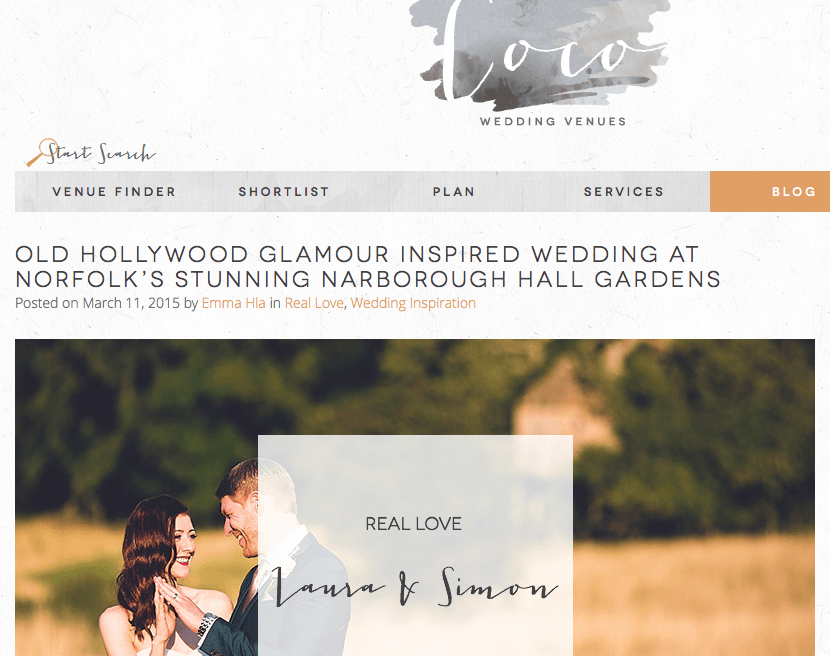 LAURA & SIMON | COCO BLOG FEATURE