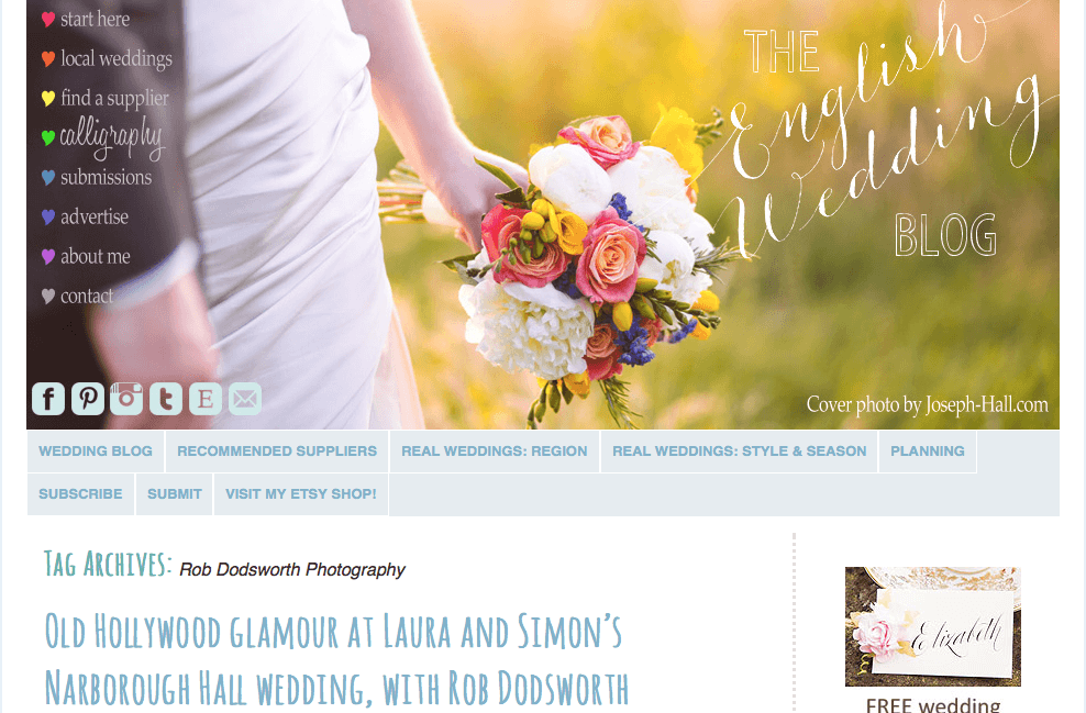 LAURA & SIMON | ENGLISH WEDDING BLOG FEATURE
