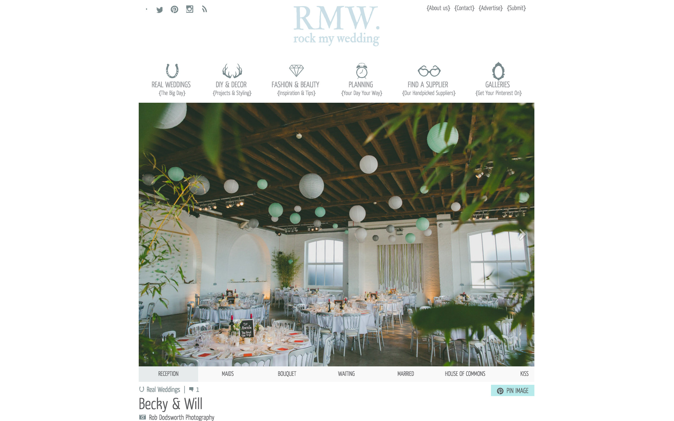 Rock my wedding featured supplier