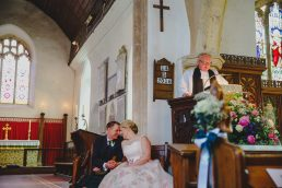 A North Norfolk church wedding