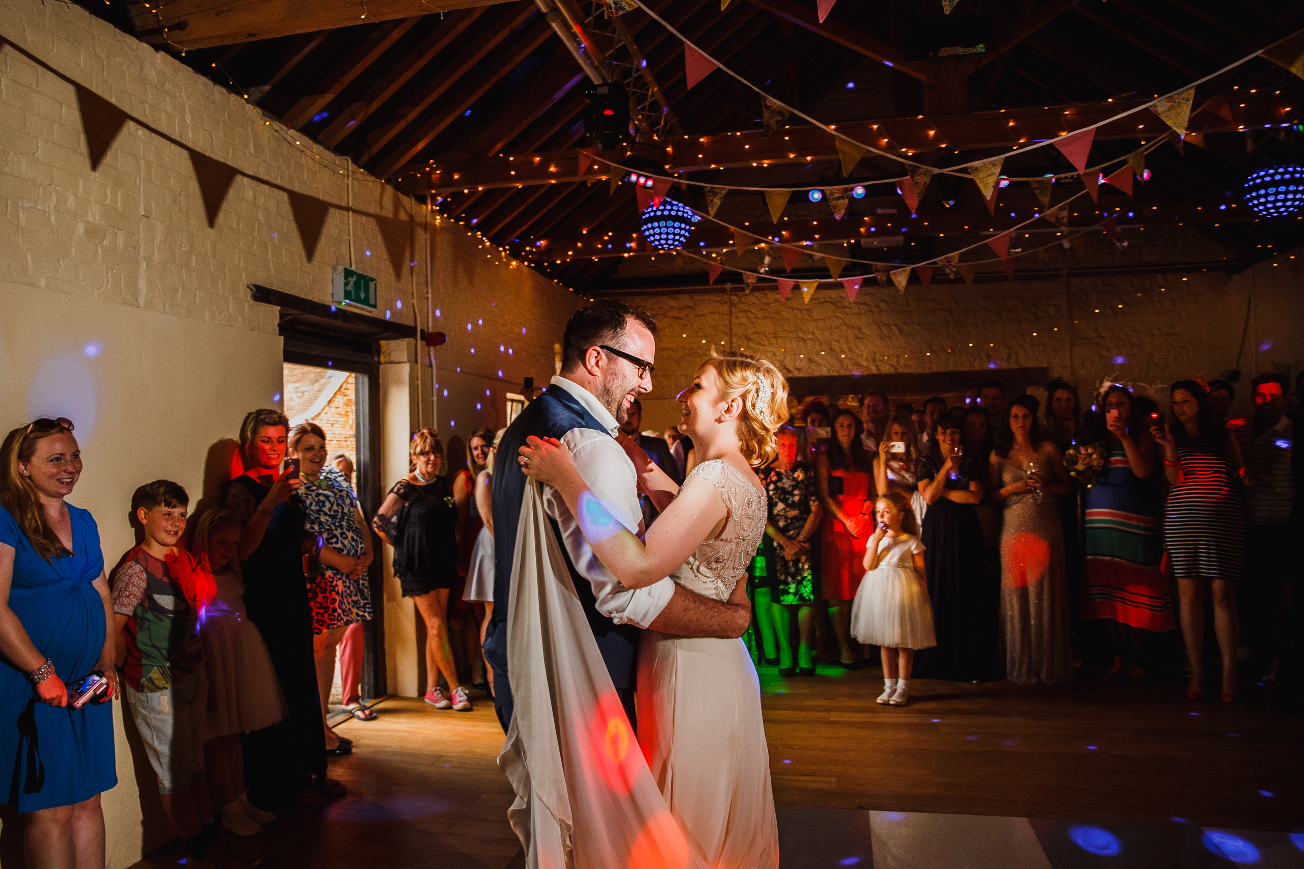 First dance at Hautbois Hall