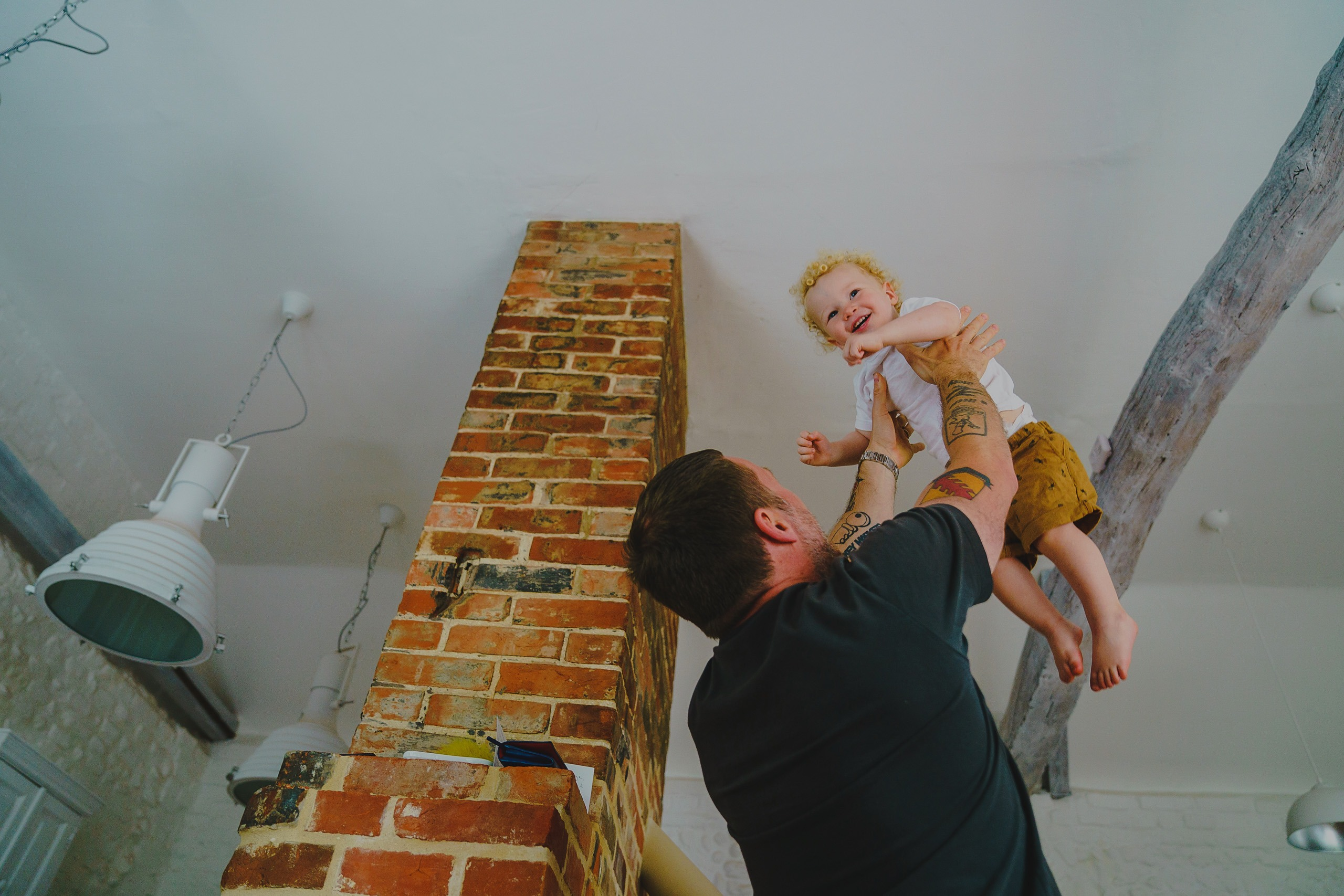 Documentary family photography in Norfolk