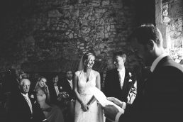 Wedding ceremony at Pentney Abbey