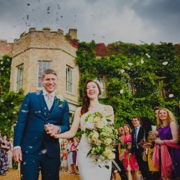 A wedding at Narborough Hall