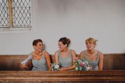 Photo of Bridesmaids at a Norwich Wedding