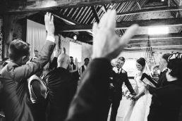 A wedding at Langley Abbey near Norwich