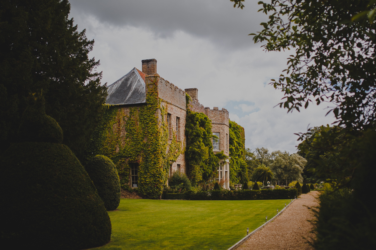 Front Aspect of Narborough Hall Wedding Venue in West Norfolk