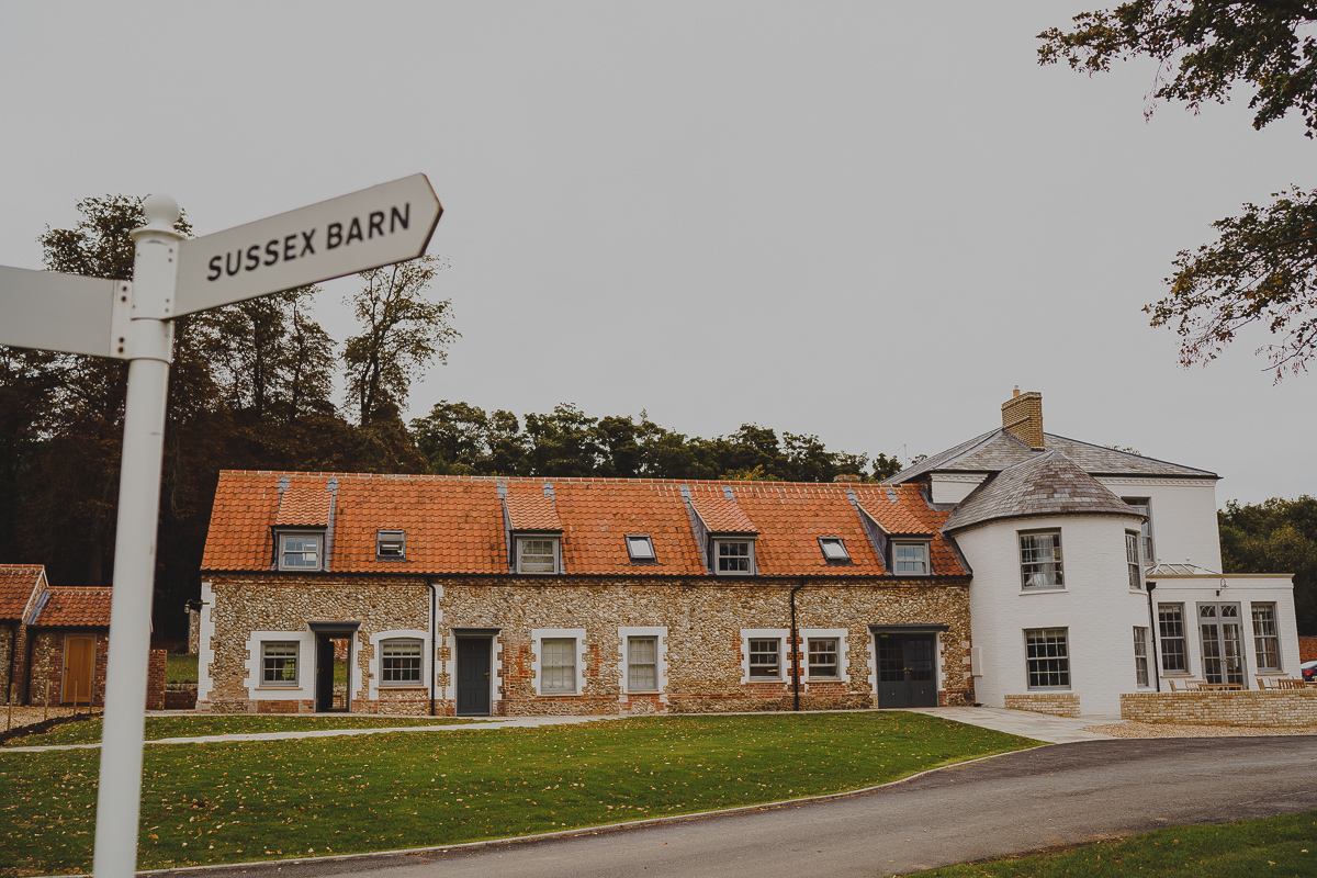 The White House at Sussex Barn wedding venue