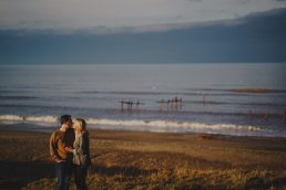 engagement photography on the norfolk coast