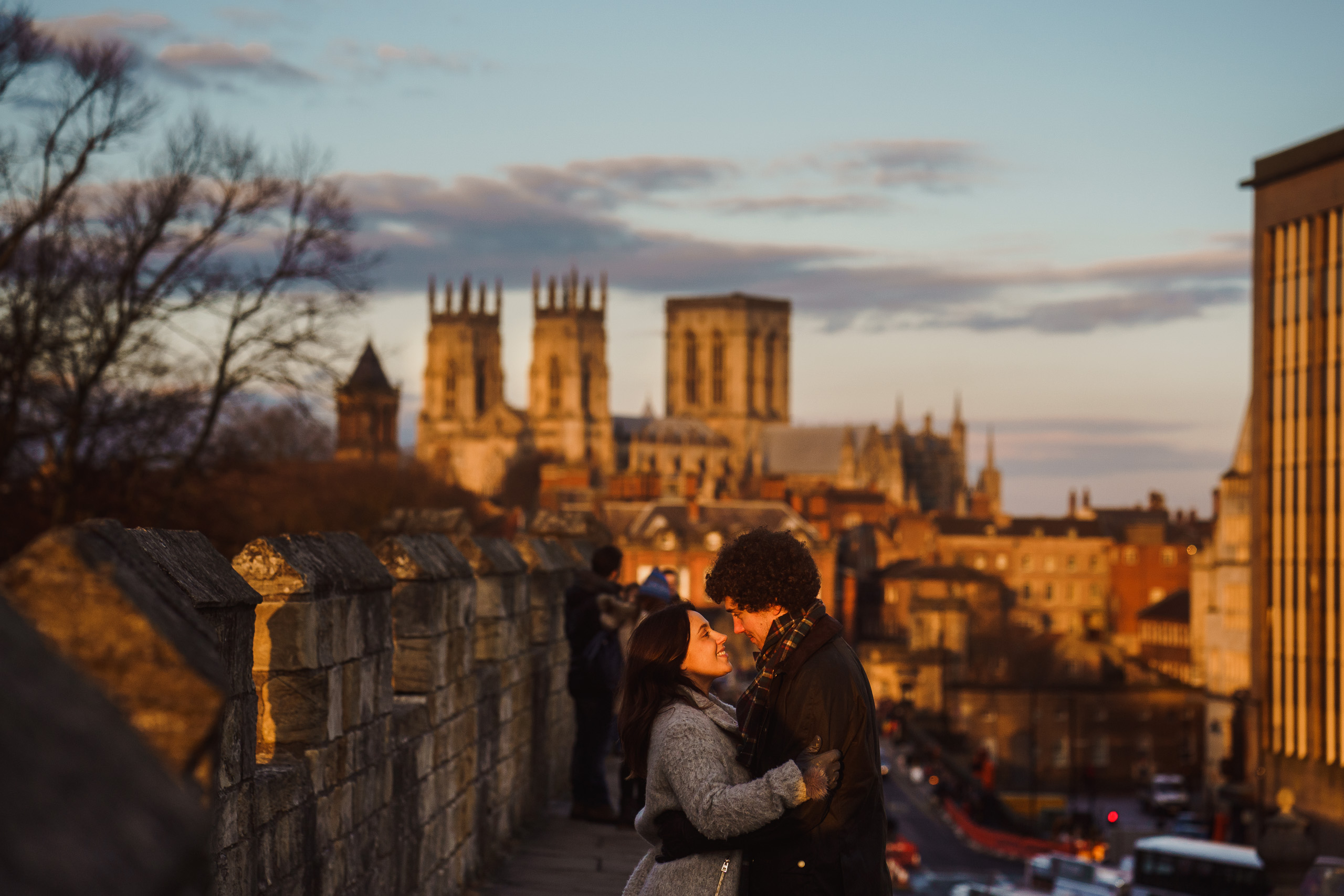 a wedding portrait in York