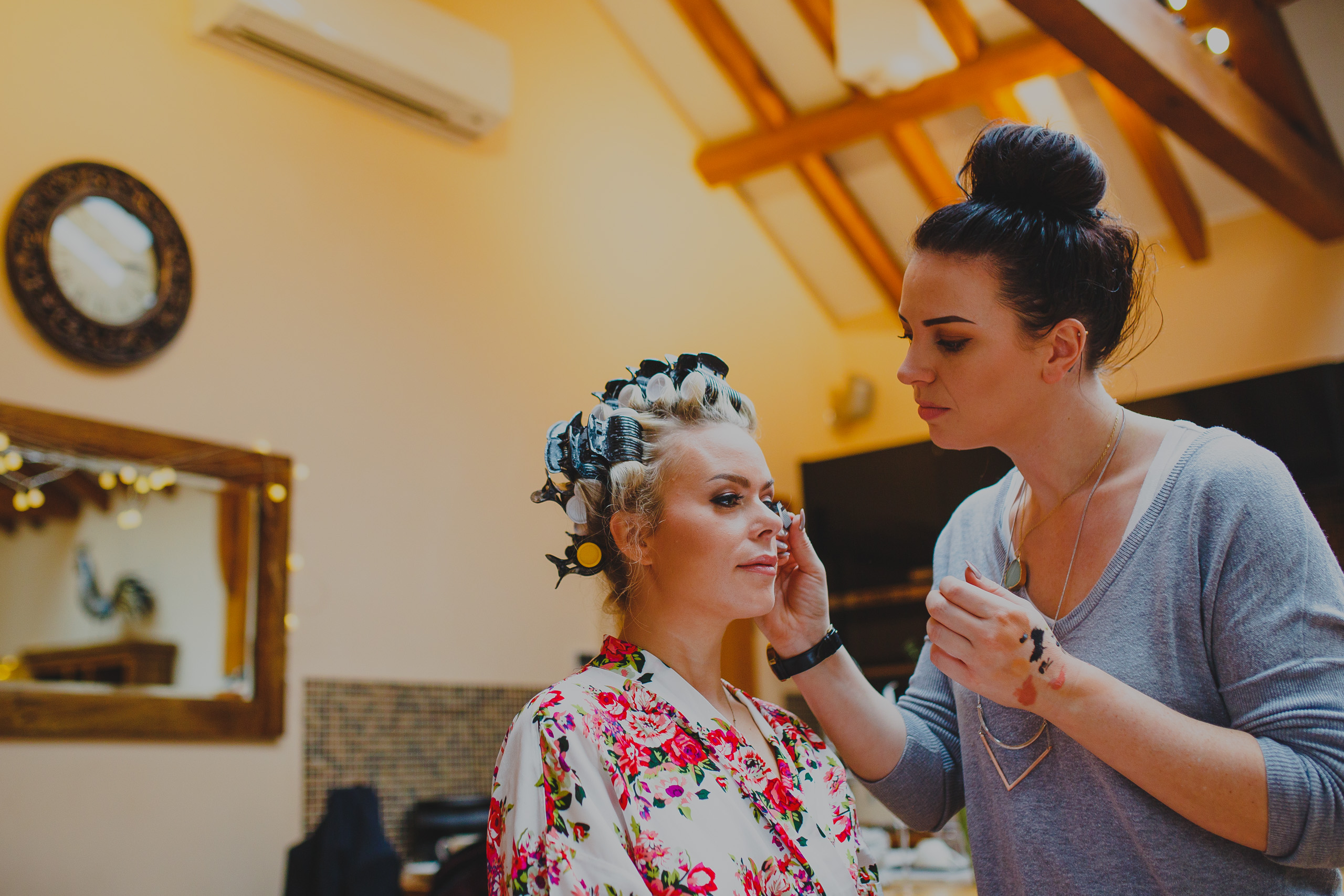 Norwich makeup artist, Emily from Lovemoi makeup at a wedding at Southwood Hall in Norfolk