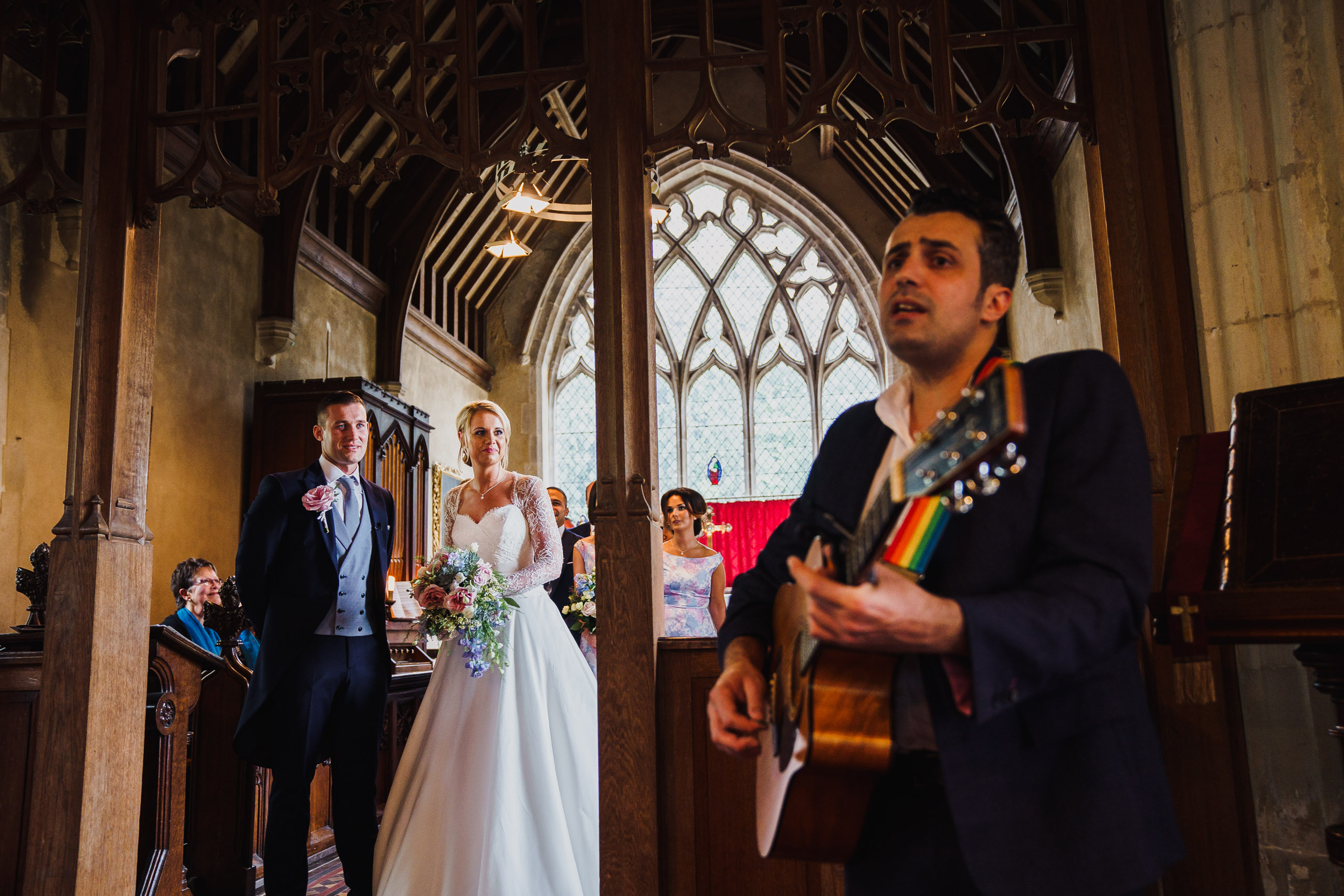 a suffolk church wedding