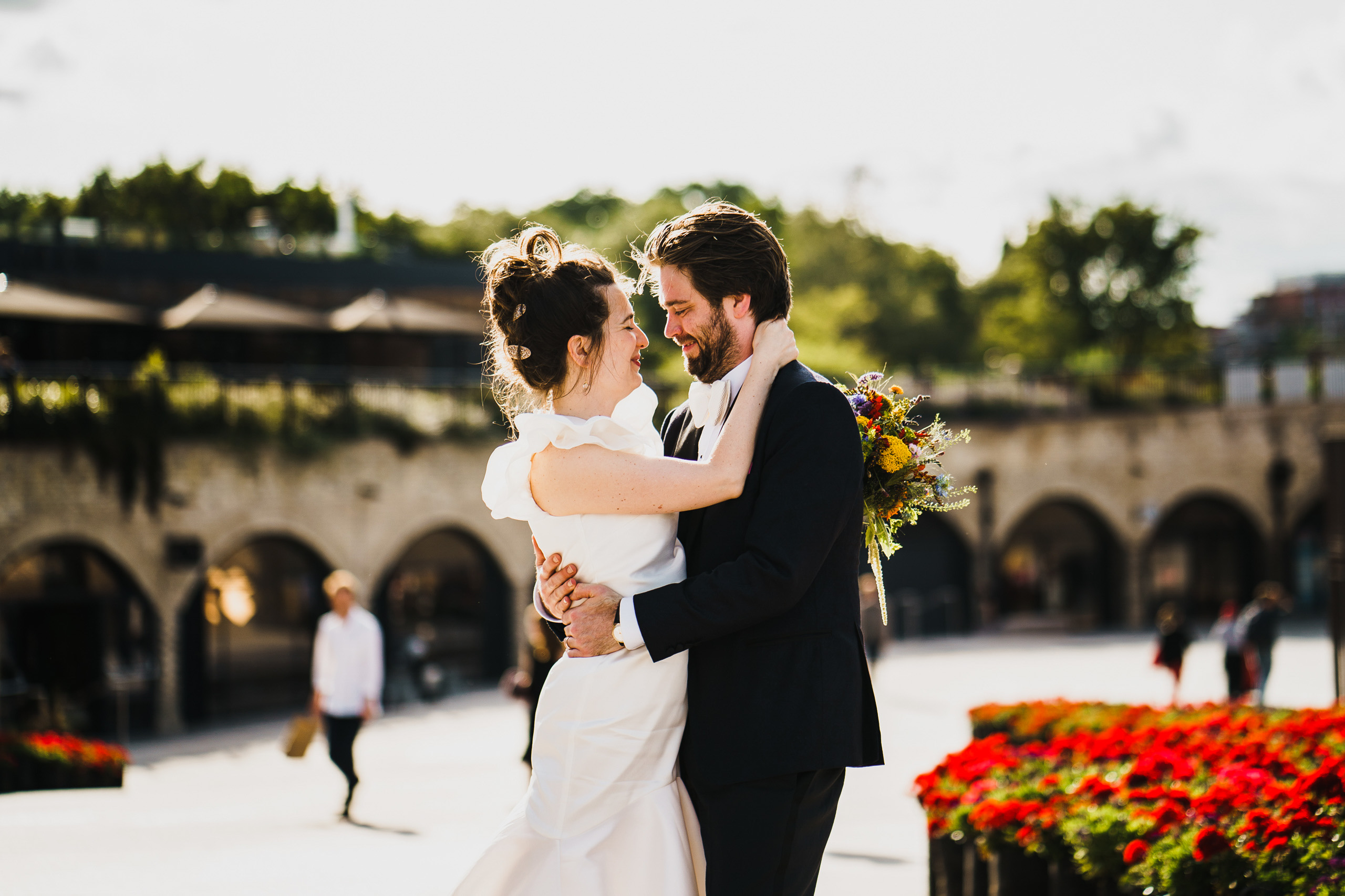 wedding photography at Coal Drops Yard