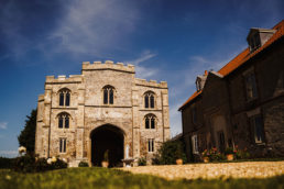 a view of Pentney Abbey in Norfolk