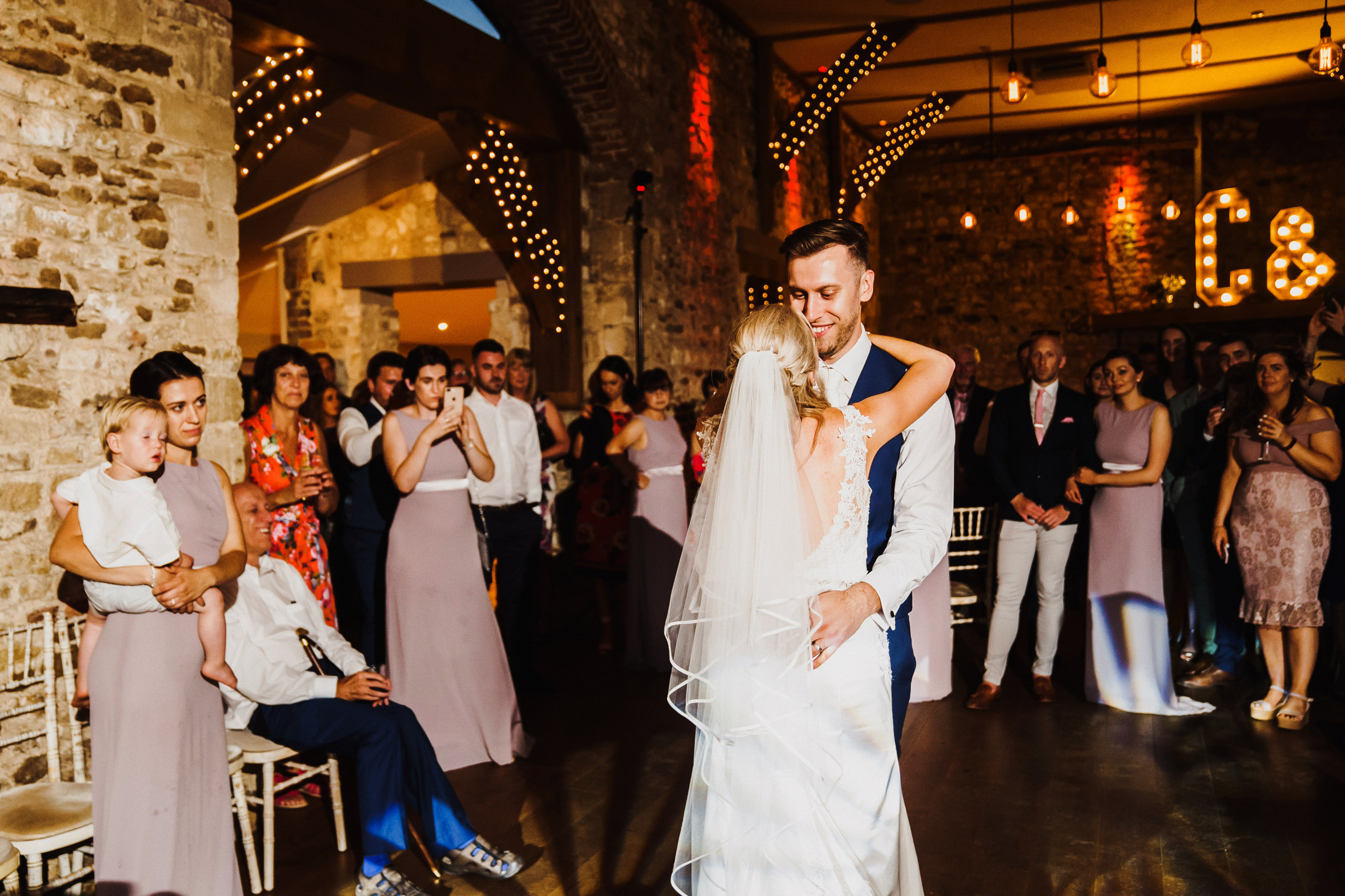 First dance at Pentney Abbey