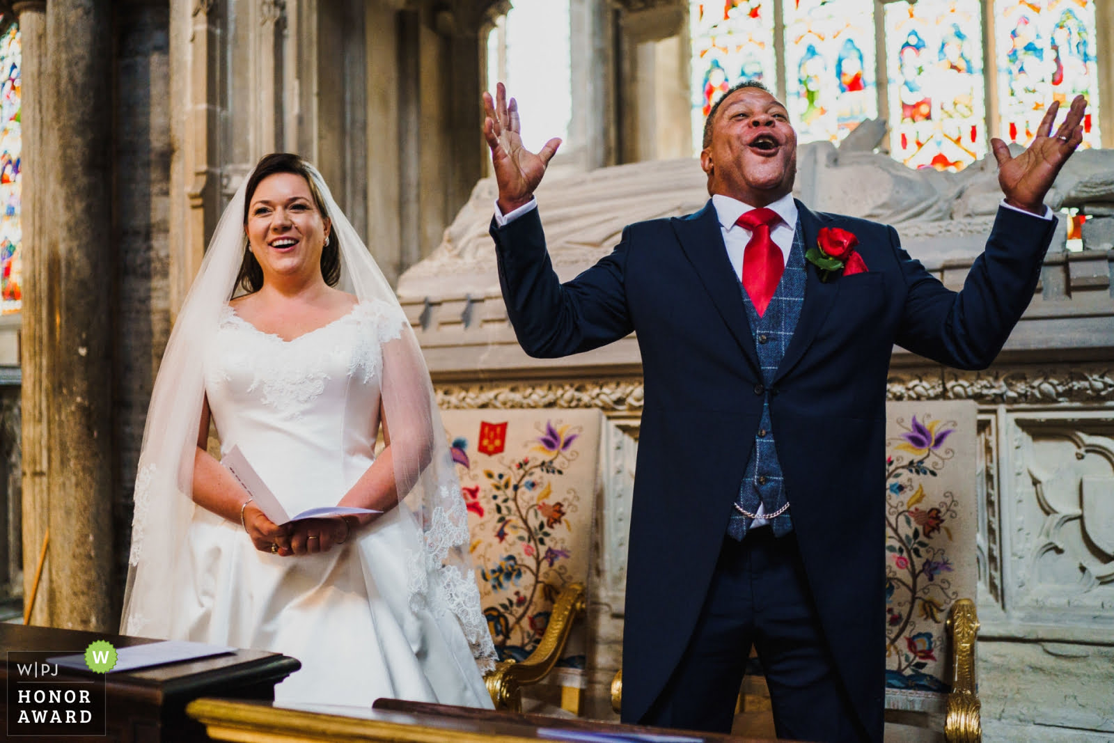 A wedding at Ely Cathedral